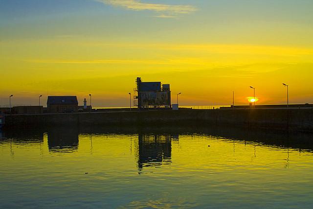 Finsam Sunset