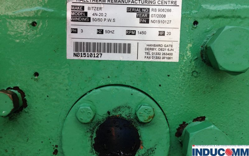 IS14 801 Condensing Unit Nameplate