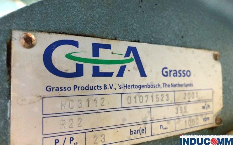 IS18 273 Compressor Nameplate