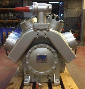 Industrial Sabroe Compressor